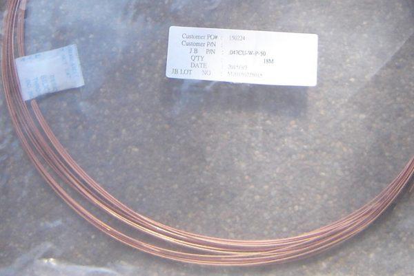 0.047CU semi rigid cable, 6.5m roll-0