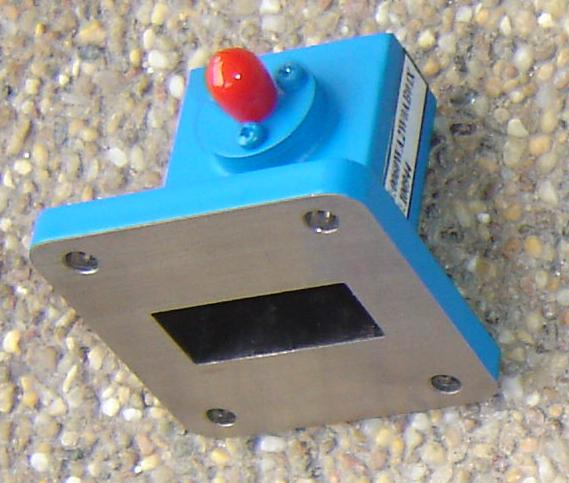 Waveguide to Coaxial Adaptor, WR112-0
