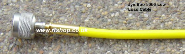5006 cable assembly equiv to Harbour LL-335, close to Huber Suhner Sucoflex 106-0