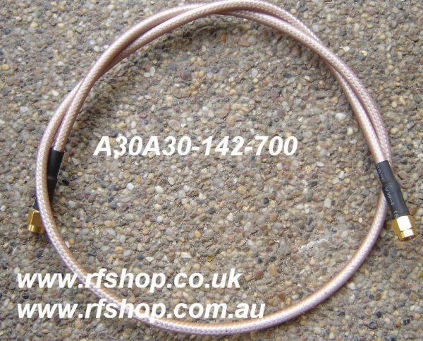 A30A30-142-700.JPG, SMA test Lead, RG142 Cable -0