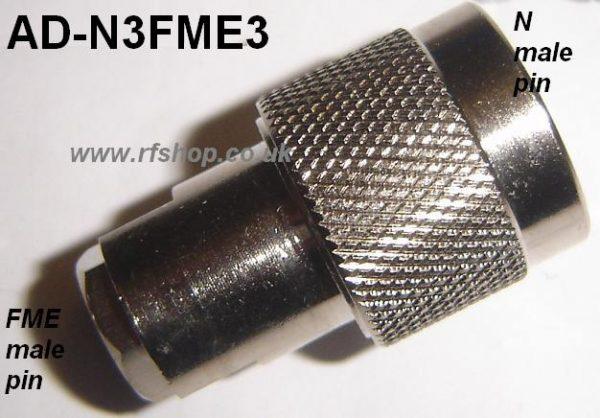Adapter - N Plug (Male pin) to FME Plug (Male pin) CH-NP-FMEP-0