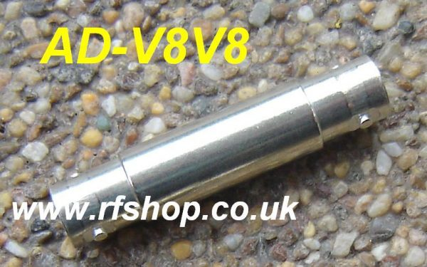 AD-V8V8, SHV adaptor, jack to jack-0