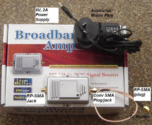 AN-BT-11BG-02, Wireless Amplifier 2.45GHz-0