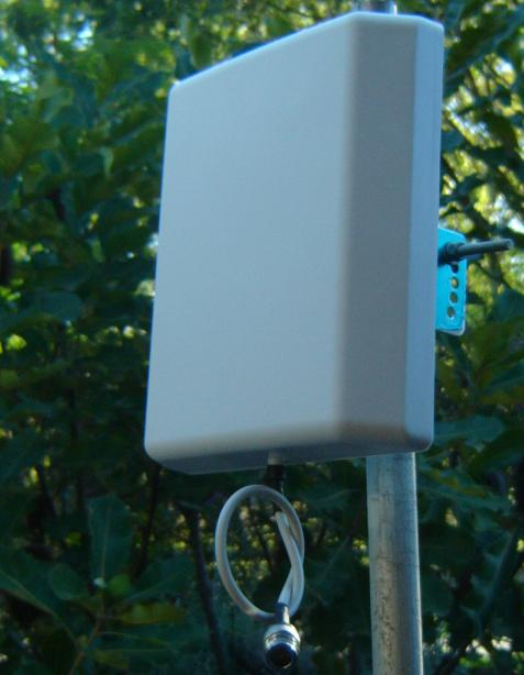 ANT0825D7K1, Dual Band 820- 960MHz/ 1700-2500MHz. Outside Antenna. Pole Mount. -0