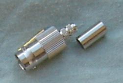 BNC8100-0059, BNC Connector, fem pin, 75 ohm, RG59-0