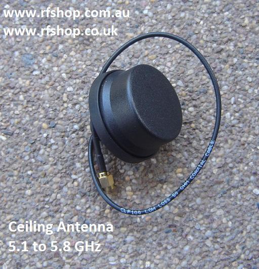 Ceiling Antenna, 5dBi, 5.1 -5.8 GHz, SMA plug male-0