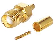 SMA Connector, RG58, LMR195, conventional fem pin, CH-AJ-58-0