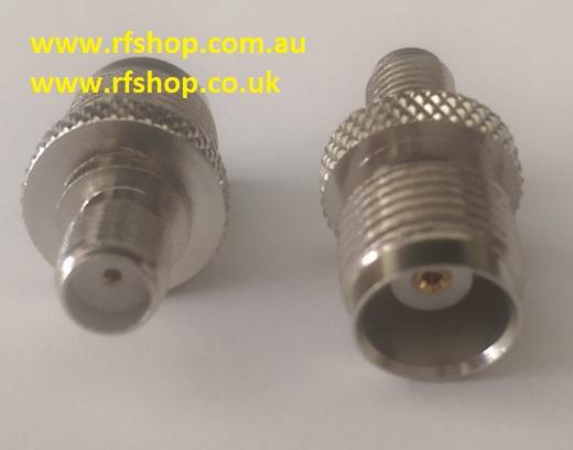 Adapter - SMA Jack (Female pin) to TNC Plug (Male pin) CH-AJ-TJ-0