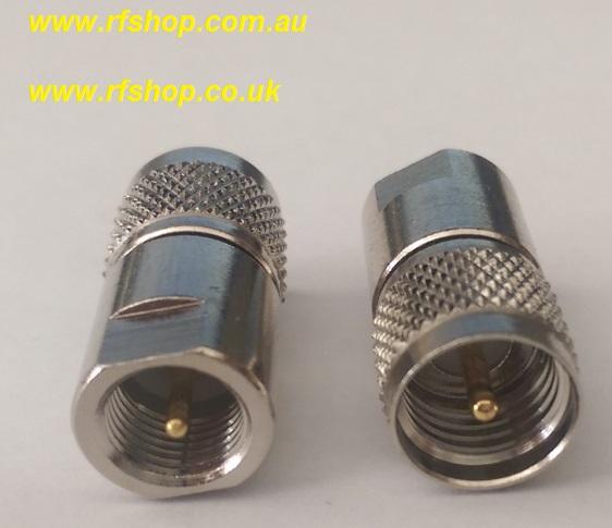 Adapter, FME Plug Male, UHF Plug male-0