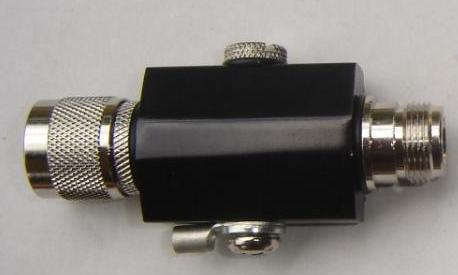 Lightning Protector - N Plug to Bulkhead N Jack, up to 2.5 GHz CH-LP-N30N85-2.5-0