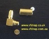 Coaxial Connector MMCX, male, RA, RG316, RG174-0