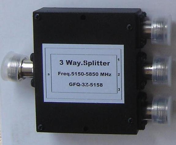 CH-SP-3NF-5.8, CH-SP-3NF-5.8 3 way splitter 5.8Ghz-0