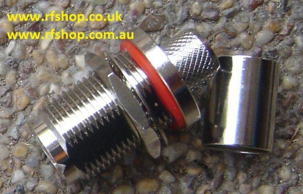 UHF jack (female pin) Bulkhead suit RG213. RG214, LMR400-0