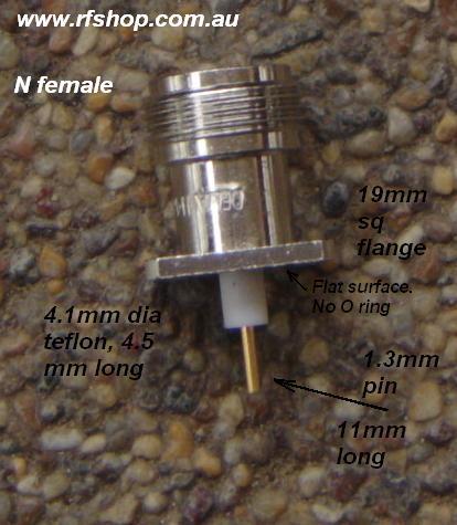 N connector fem pin 179-00225-Delta-0