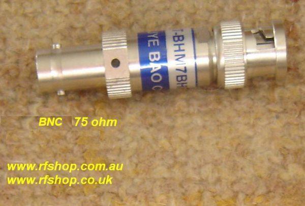 FAT-BM7BF7T1G1W10, BNC 75 ohm attenuator-0