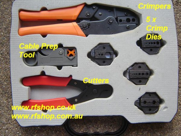 TEL-330K Crimp Tool Set -0