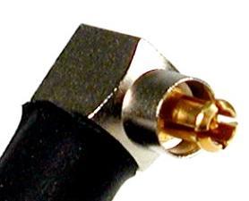 JyeBao Right Angle MC Plug (Male pin) suit RG316, RG174 (MC3100-9316) MC3100-9316-0