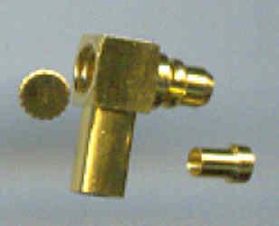 MMCX3100-9178, MMCX connector, male pin, RG178 , RA, Crimp-0