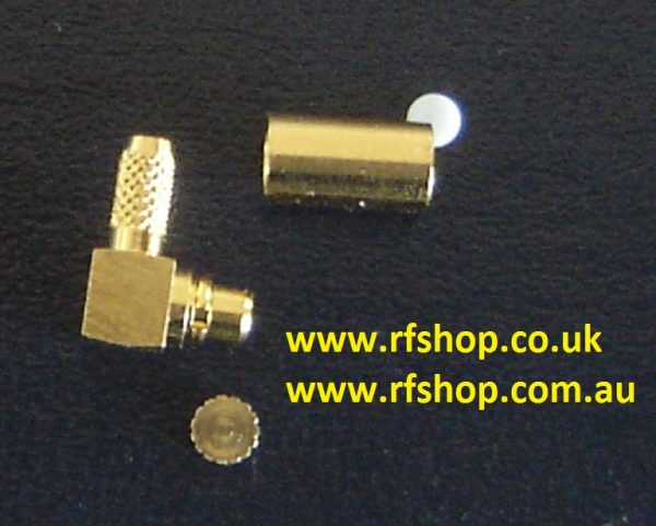 MMCX3100-9316, MMCX connector, male pin, RG316 , RA, Crimp-0