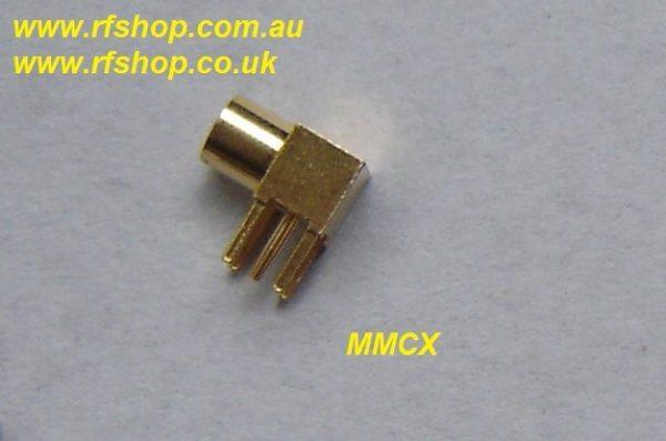 MMCX8400-9000 , MMCX,jack, RA, PCB mount-0