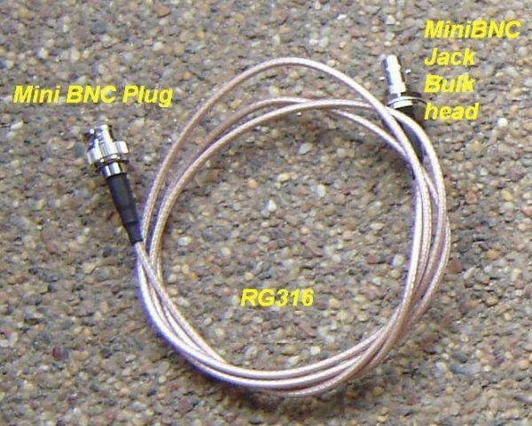 MiniBNC30MiniBNC85-RG316-1000 Mini BNC connector cable assembly-0