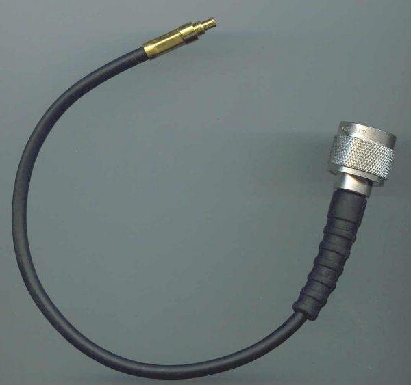 N Plug to MCX Plug, 195 series cable, 1m N30MCX30-195-1000-0