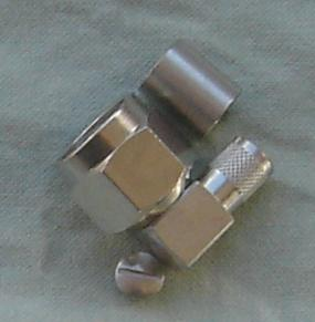 JyeBao Right Angle N Plug (Male pin) suit LMR400, TC-400-NMH-RA equiv, N3100BA-9L400-0