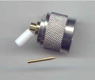 N3300-0141, N connector, male pin, RG402, solder-0