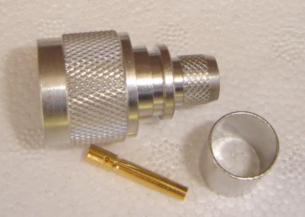 N6100-L400, RP-N Plug ( fem pin) LR400-0