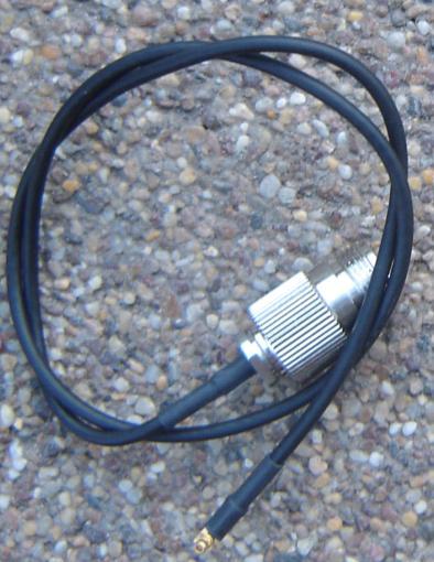 N80MMCX39-100-500, N (female) jack BH, MMCX Plug, RA, 100 Cable, Length = 500mm-0