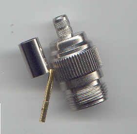 N8100-0058, N connector, fem pin, RG58, 195, crimp-0