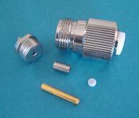 N8100-0316, N connector fem pin, RG316-0