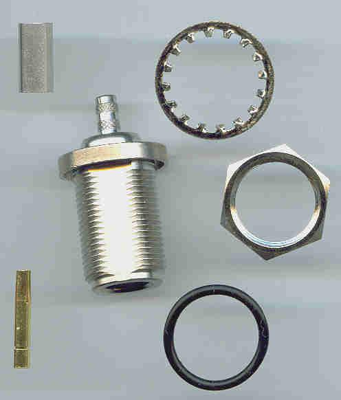 N8105-0058, N connector, fem pin, panel mount, RG58, crimp-0