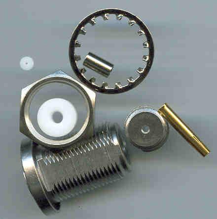 N8105-0316, N connector, fem pin, panel mount, RG316, crimp-0