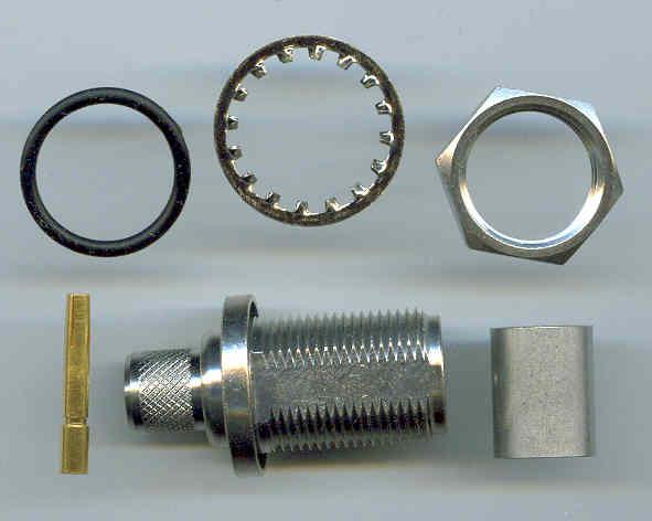 N8105-L400, N connector, fem pin, panel mount, LR400, crimp-0