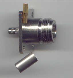 N8146-0058, N connector, fem pin, panel mount, RG58, crimp-0