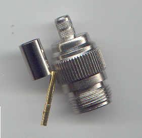N8100-0213, N connector, fem pin, RG213, crimp-0