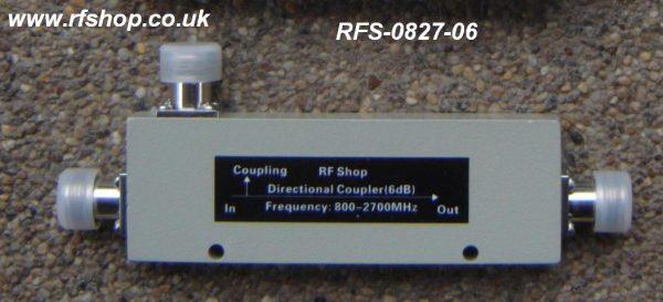 Coaxial Directional Coupler RFS-0827-06-0