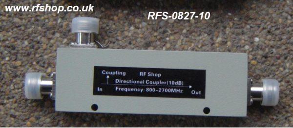 Coaxial Directional Coupler RFS-0827-10-0