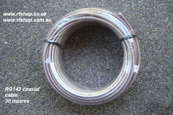 RG142 Coaxial Cable 30m reel-0