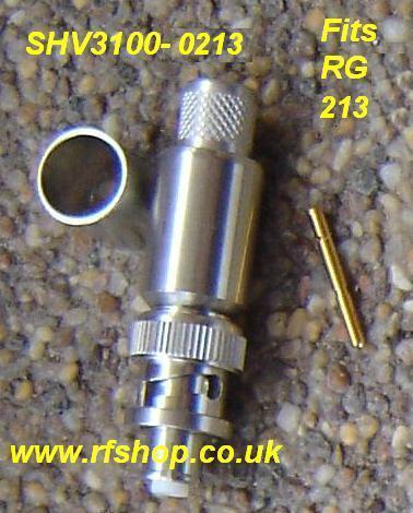SHV3100-0213, SHV connector, RG213, crimp-0