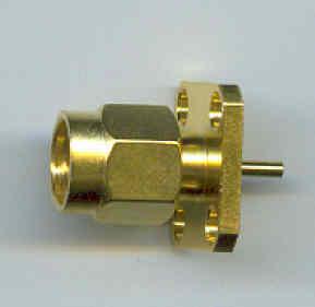 SMA364A-0000, SMA Connector male pin-0