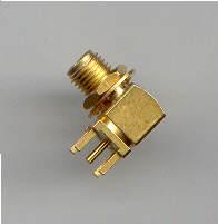 SMA8400-9000, SMA Connector fem pin, RA-0