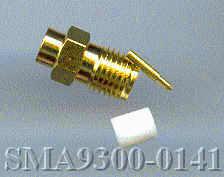 SMA9300-0141, SMA Connector, RG402, RP, male pin-0