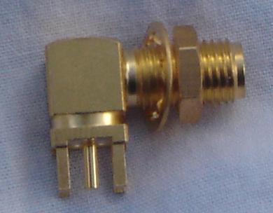 SMA8400A-9000, SMA Connector fem pin, RA-0