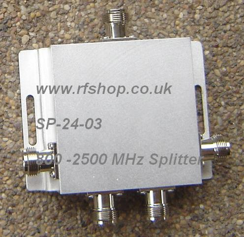 CH-SP-4NF-2.5GHz, Four way spitter, 2.5 GHz, N female jack conns-0