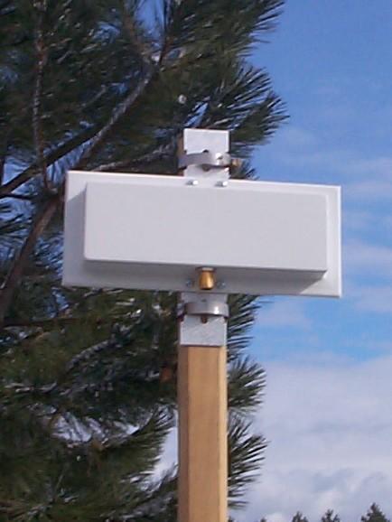 2.45GHz, 13dBi, Flat panel directional antenna, H.P. Superpass, SPFPGH13-0