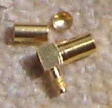 SSMB3100-9316, SSMB Connector, plug, RA, Rg316-0