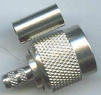 TNC-17-01-F2-TGN, TNC connector, male pin, RG58, crimp-0