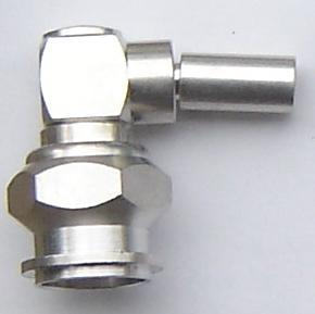 TNC3100-9058, TNC connector, male pin, Right Angle RG58, crimp-0